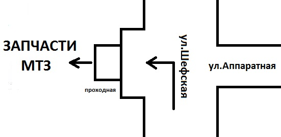 """ООО """"Полюс"""" схема проезда"""